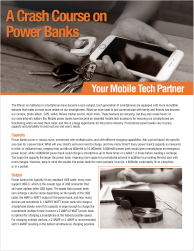 Power Bank Crash Course - Download Marketing Flyer