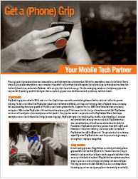 Get a Phone Grip - Download Marketing Flyer