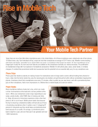 Rise of Tech - Download Marketing Flyer