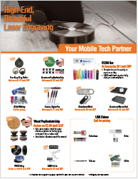 Laser Engrave Products - Download Marketing Flyer