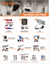 Phone Grip Products - Download Marketing Flyer