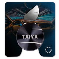 Custom PopGrip Backspin Backer Card, ReadyShip 5 Day