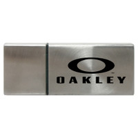 Fresno rectangular metal USB drive
