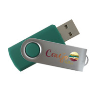 iClick swivel cap USB drive, ReadyShip Next Day