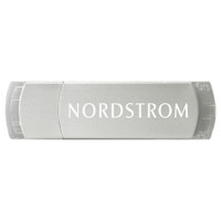 Kalamazoo USB drive, metal body with clear trim