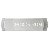 Kalamazoo USB drive, metal body with clear trim