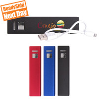 P2200 Bar power bank, 2,200 mAh, ReadyShip Next Day