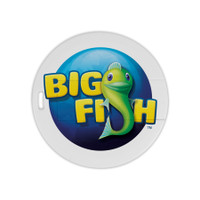 Round Laguna USB drive