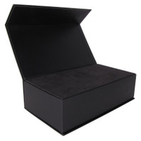 Superior magnetic closure, black gift box, with foam insert