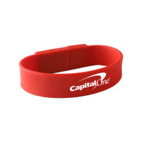 Union wristband USB drive, ReadyShip 3 Day