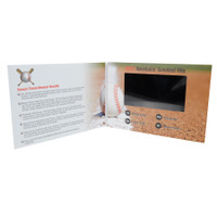 Video Greeting Card 7 inch, example